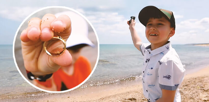 The most fun way to introduce kids to metal detecting